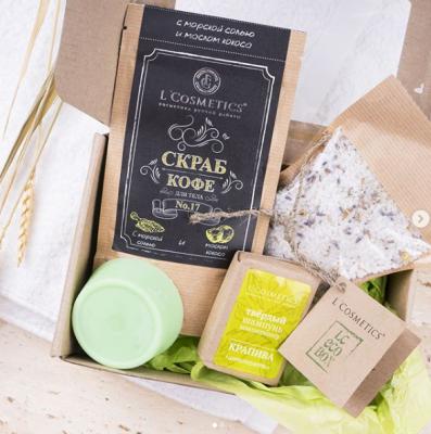 ЭкоBOX от L'Cosmetics гарантированно за участие в #Lcэкомарафон в Instagram